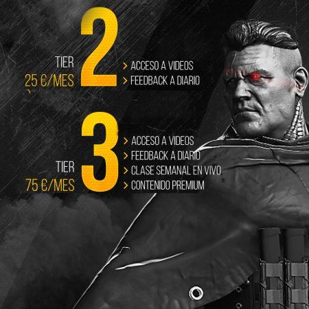 Creación de Personajes para videojuegos Tier 2 y 3