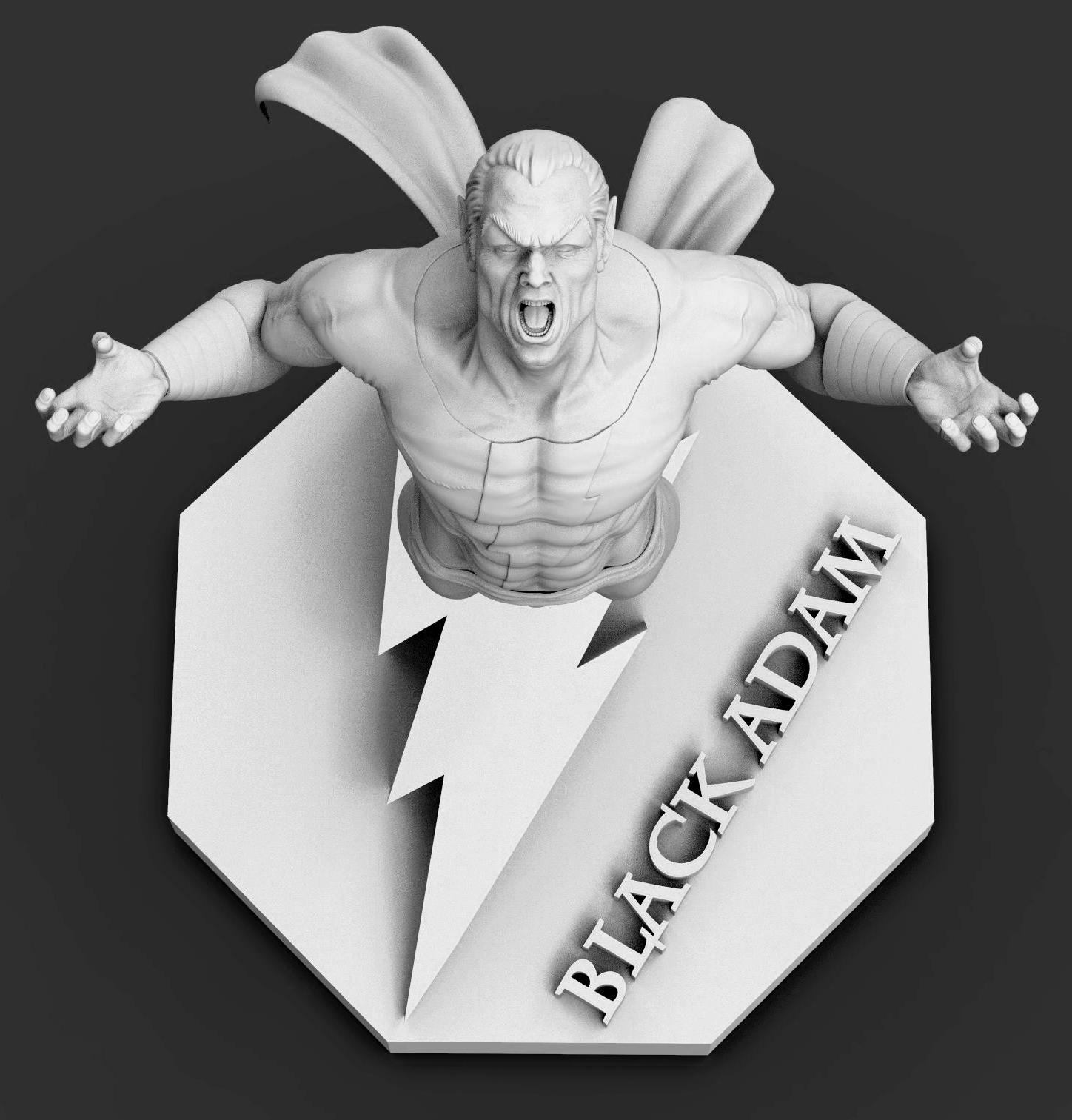 Black Bolt Zbrush