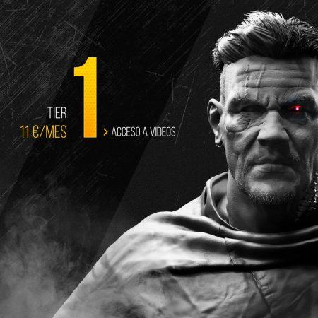 Creación de Personajes para videojuegos para Tier 1